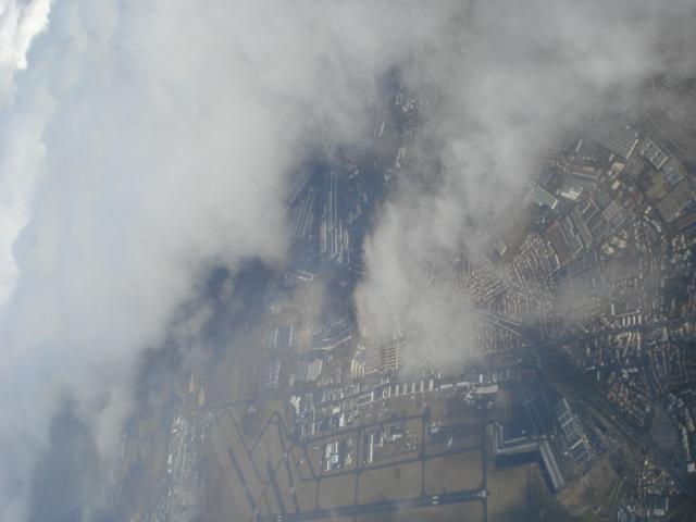 Vista da Eslovênia -Avião